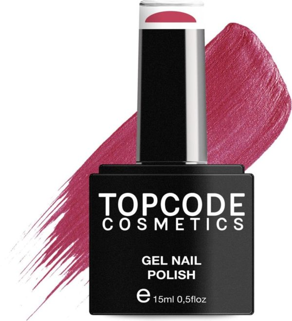 TOPCODE Cosmetics Gellak - Rusty Red - #MCRE22 - 15 ml - Gel nagellak