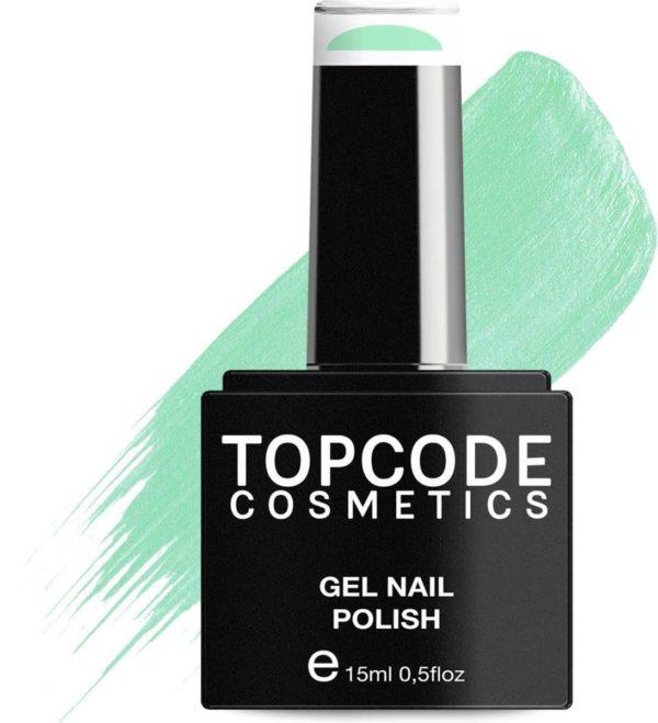 TOPCODE Cosmetics Gellak - Tea Green - #MCBL40 - 15 ml - Gel nagellak