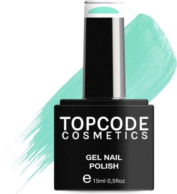 TOPCODE Cosmetics Gellak - Turquoise Green - #MCBL49 - 15 ml - Gel nagellak