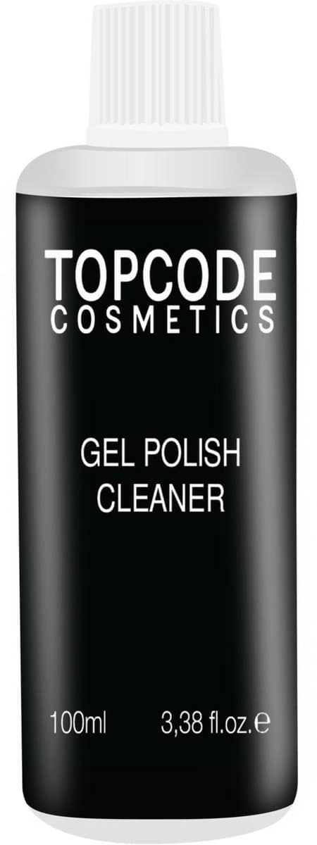 TOPCODE Cosmetics - Gellak cleaner - 100ml - #MCCL01- Transparant - Ontvet de nagels voor een top hechting