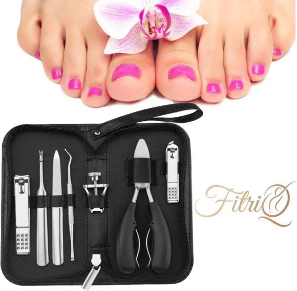 Teen Nagelknipper - Ingegroeide Teennagel Set - Pedicure Set - Manicure Set - Nageltang - Nagelvijl - Voetvijl - Nagelverzorging