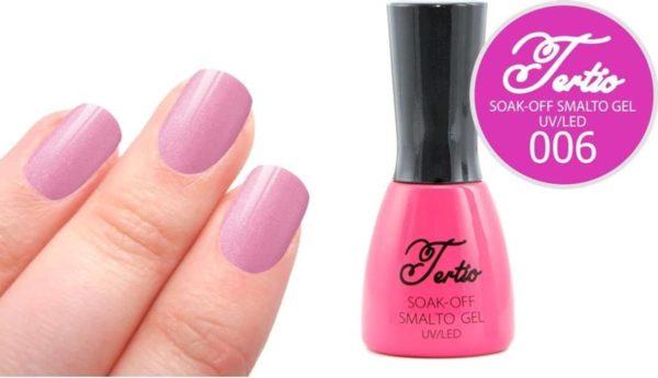 Tertio #006 Paars Glitter - Gel nagellak - Gelpolish - Gellak