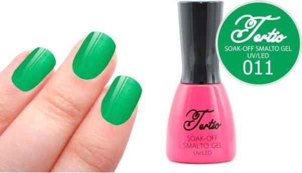 Tertio #011 Groen Glitter - Gel nagellak - Gelpolish - Gellak