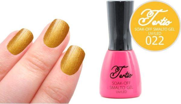 Tertio #022 Goud Glitter - Gel nagellak - Gelpolish - Gellak