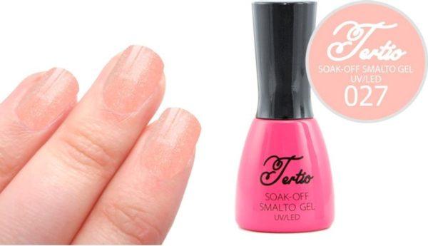 Tertio #027 Roze Glitter - Gel nagellak - Gelpolish - Gellak