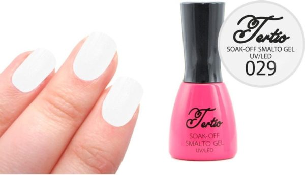 Tertio #029 Off White Glitter - Gel nagellak - Gelpolish - Gellak