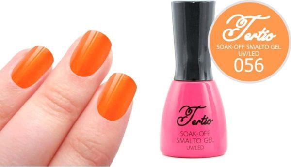 Tertio #056 Neon Oranje - Gel nagellak - Gelpolish - Gellak