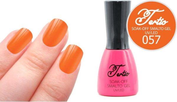 Tertio #057 Oranje Bruin - Gel nagellak - Gelpolish - Gellak