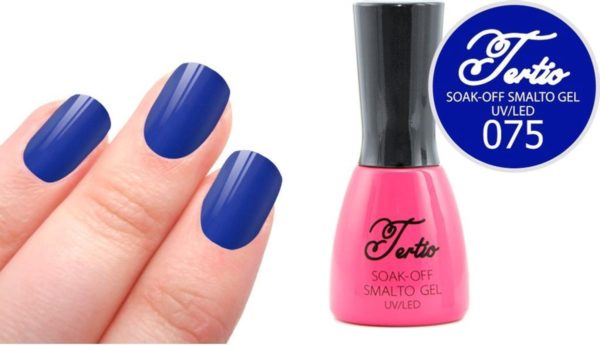 Tertio #075 Blauw - Gel nagellak - Gelpolish - Gellak