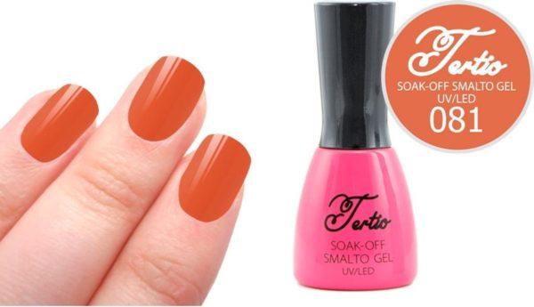 Tertio #081 Oranje Bruin - Gel nagellak - Gelpolish - Gellak