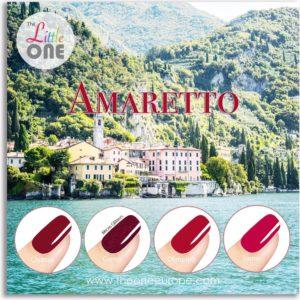 The Little One Amaretto Color Gellak Set - 4-delig - 7ML - Rood kleuren - voor UV & LED lamp