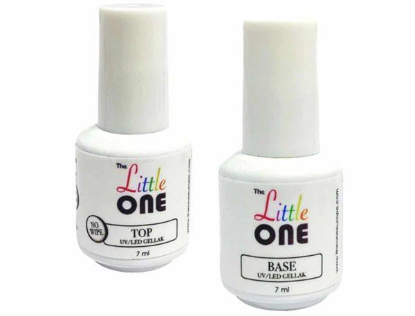 The Little One Base & Top Coat Set UV/LED Gellak 2x7ml