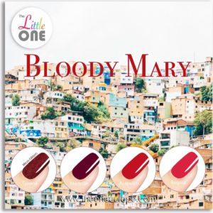 The Little One Bloody Mary Color Gellak Set - 4-delig - 7ML - Rood kleuren - voor UV & LED lamp