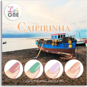 The Little One Caipirinha Color Gellak Set - 4-delig - 7ML - Rood, Groen,Roze kleuren - voor UV & LED lamp