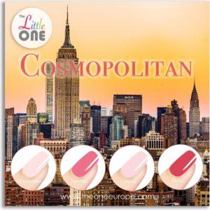 The Little One Cosmopolitan Color Gellak Set - 4-delig - 7ML - Rood, Roze kleuren - voor UV & LED lamp