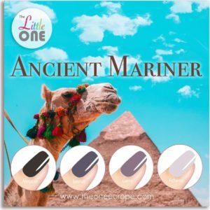 The One Ancient Mariner Color Gellak Set - 4-delig - 7ML - Zwart, Grijs Kleuren - voor UV & LED lamp