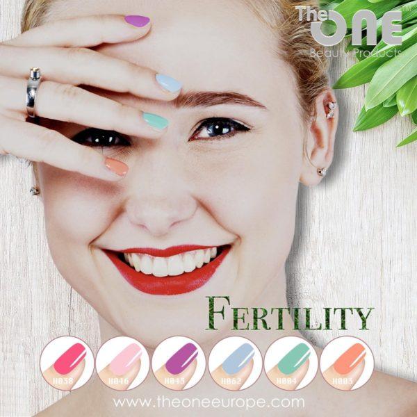 The One Fertility Pro Color Gellak Set - 6-delig - 15ML - Paars, Roze, Groen, Blauw, Oranje kleuren - voor UV & LED lamp