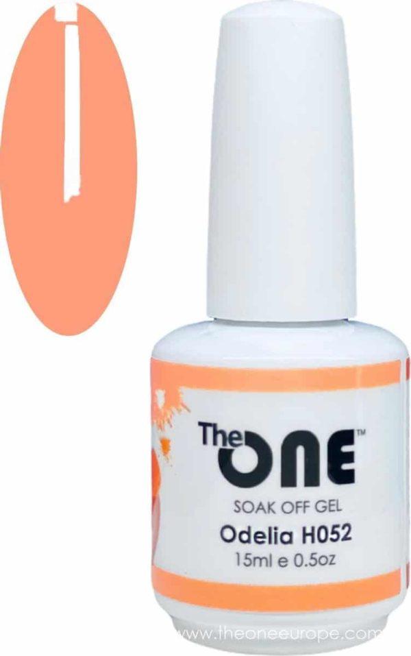 The One Pro - Gellak 15ml - kleur Odelia Oranje H052