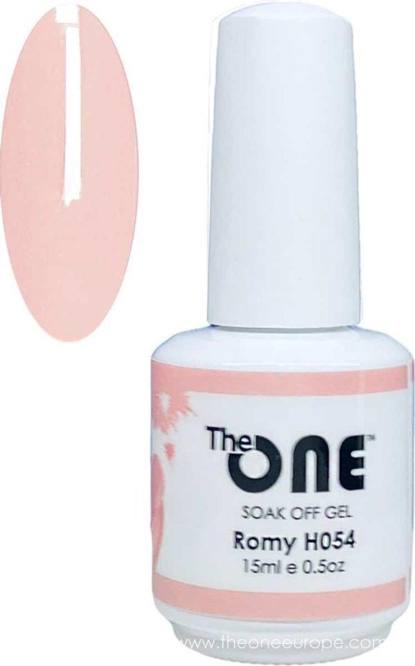 The One Pro - Gellak 15ml - kleur Romy Neutrale H054