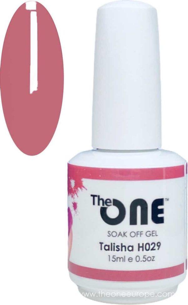The One Pro - Gellak 15ml - kleur Talisha Neutrale H029