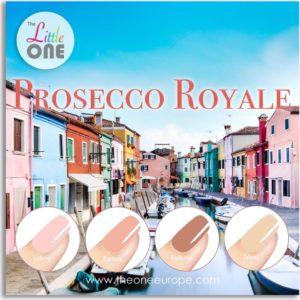 The One Proseco Royale Color Gellak Set - 4-delig - 7ML - Nude kleuren - voor UV & LED lamp