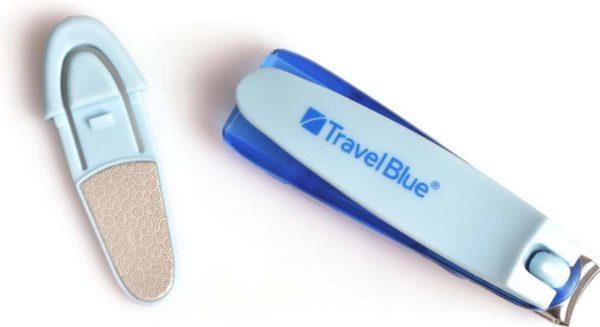 Travel Blue Nagelknipper
