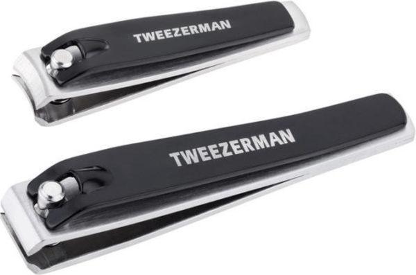 Tweezerman Combo Nagelknipper Set - Zwart