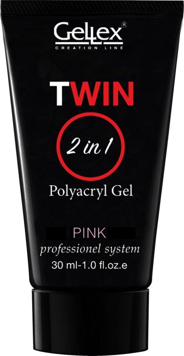 Twin Polyacryl Gel Pink, Polygel 30g.