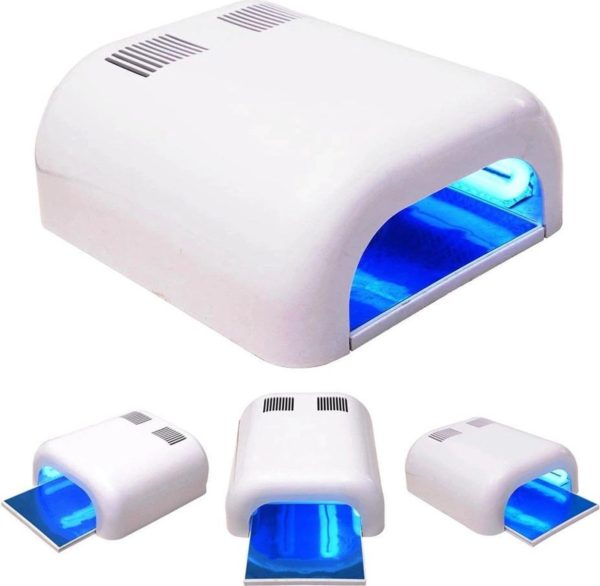 UV Lamp Nageldroger - 36W | Gellak/Gelnagels/Gel Nagellak Droger - Nagellamp / Nagel Lamp - 230 Wit