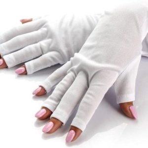 UV handschoen voor nagel lamp, Anti UV handschoenen