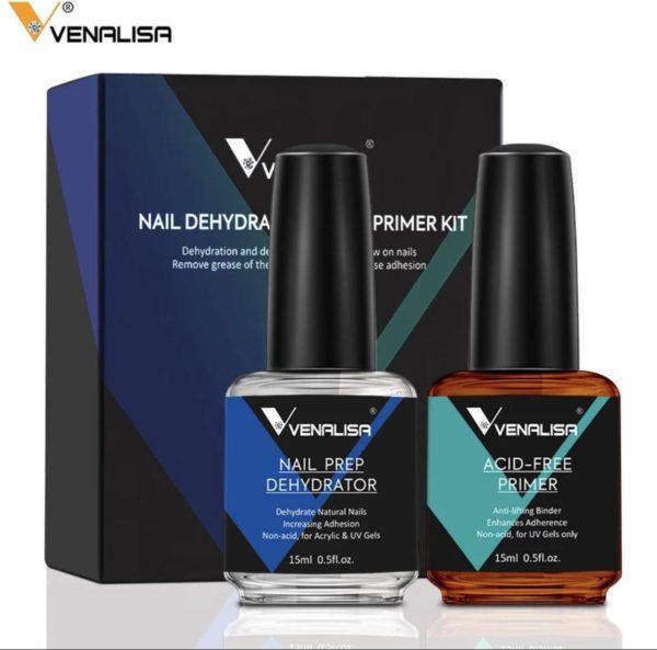 Venalisa - Gellak nail prep - Voorbereiding op je gellak - Nagelverzorging - Basis nagel verzorging.