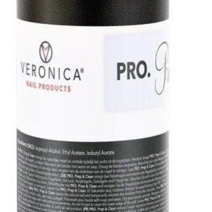 Veronica NAIL-PRODUCTS PRO Prep & Clean, 100 ml, de beste hechting van nagellak, acryl, gel, polygel, gel polish aan de natuurlijke nagels.
