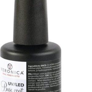 Veronica NAIL-PRODUCTS ' UV / LED BASE COAT ' bescherming / hechting van natuurlijke nagel vóór applicatie van gellak / gel nagellak. Beste basecoat!