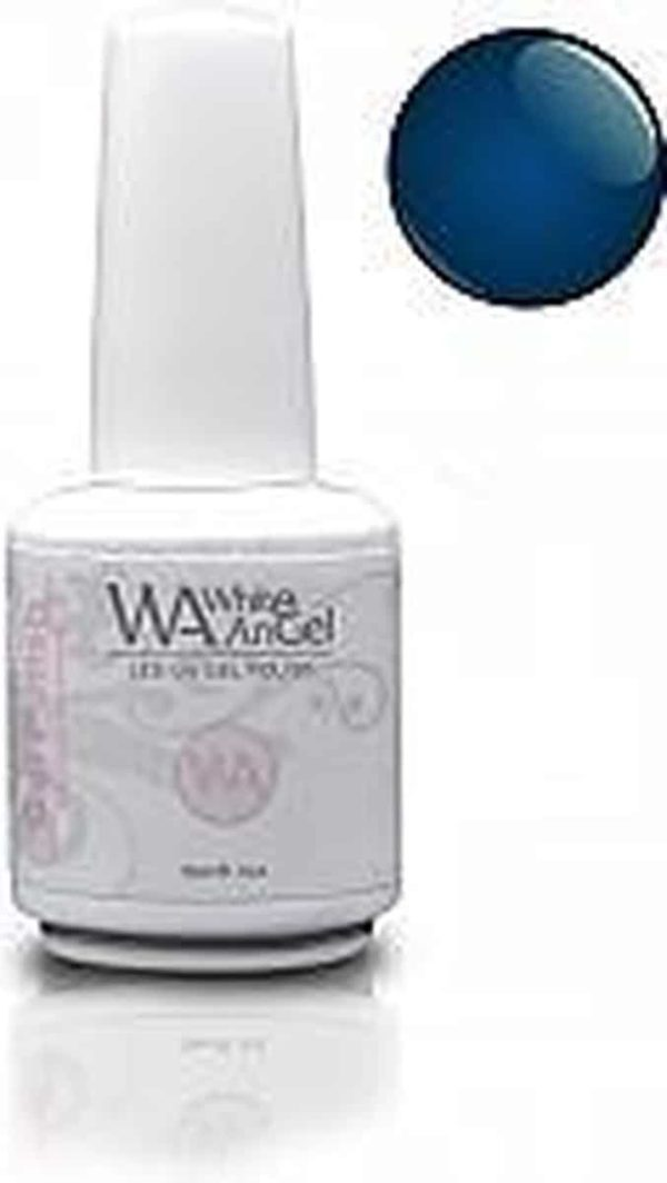 White Angel, Blue City, gellak 15ml, gelpolish, gel nagellak, shellac