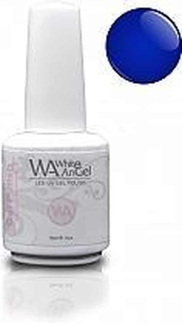 White Angel, Blue Sapphire, gellak 15ml, gelpolish, gel nagellak, shellac