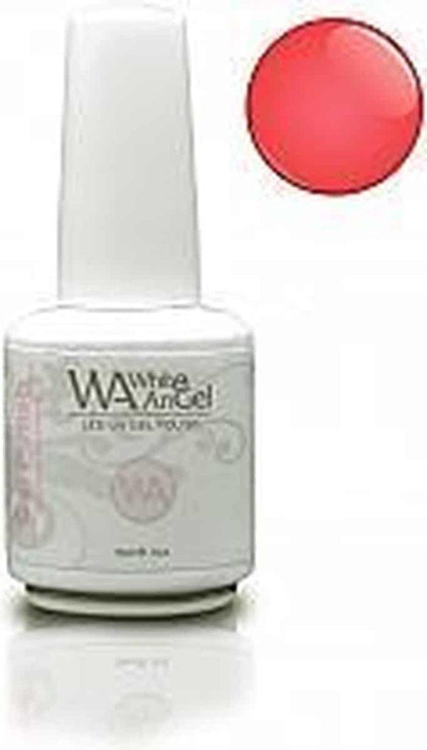 White Angel, Electric Crimson, gellak 15ml, gelpolish, gel nagellak, shellac