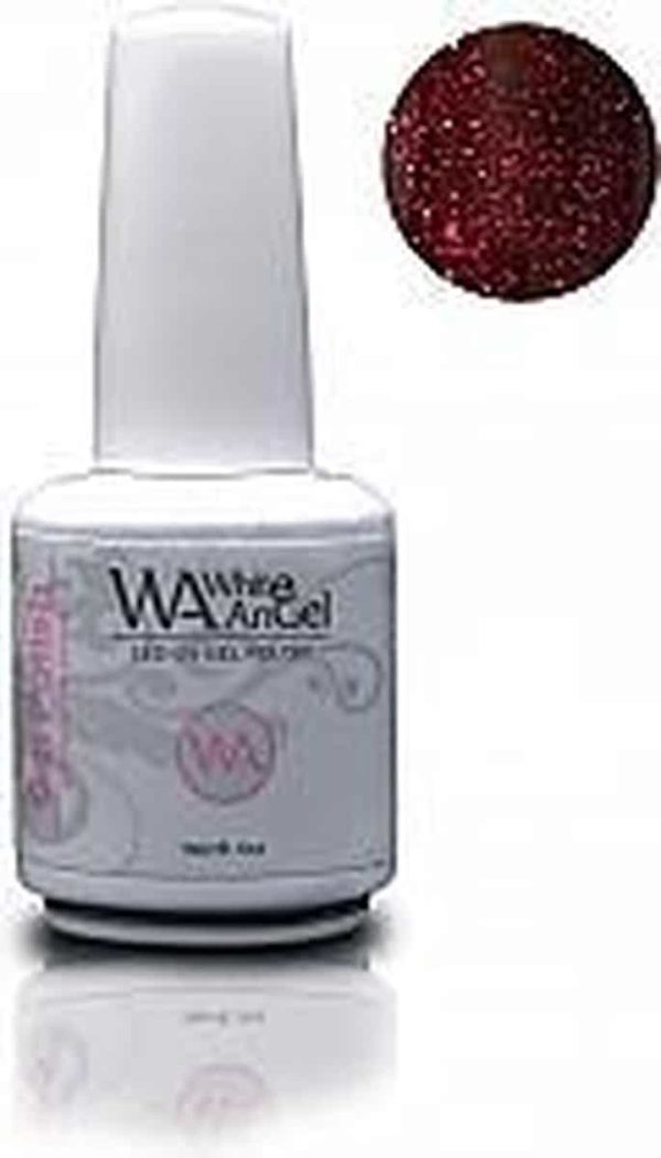 White Angel, Magic Red, gellak 15ml, gelpolish, gel nagellak, shellac