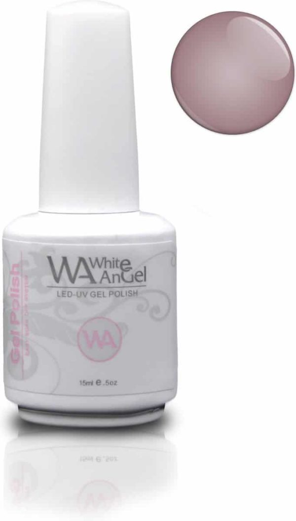 White Angel, Naked True, gellak 15ml, gelpolish, gel nagellak, shellac