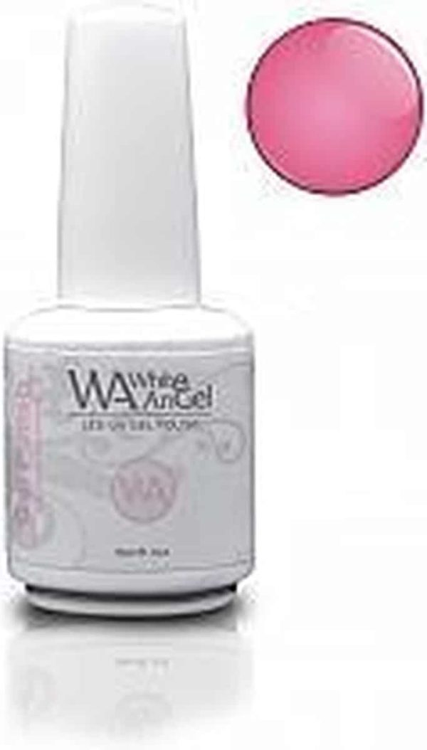 White Angel, Pink Moment, gellak 15ml, gelpolish, gel nagellak, shellac
