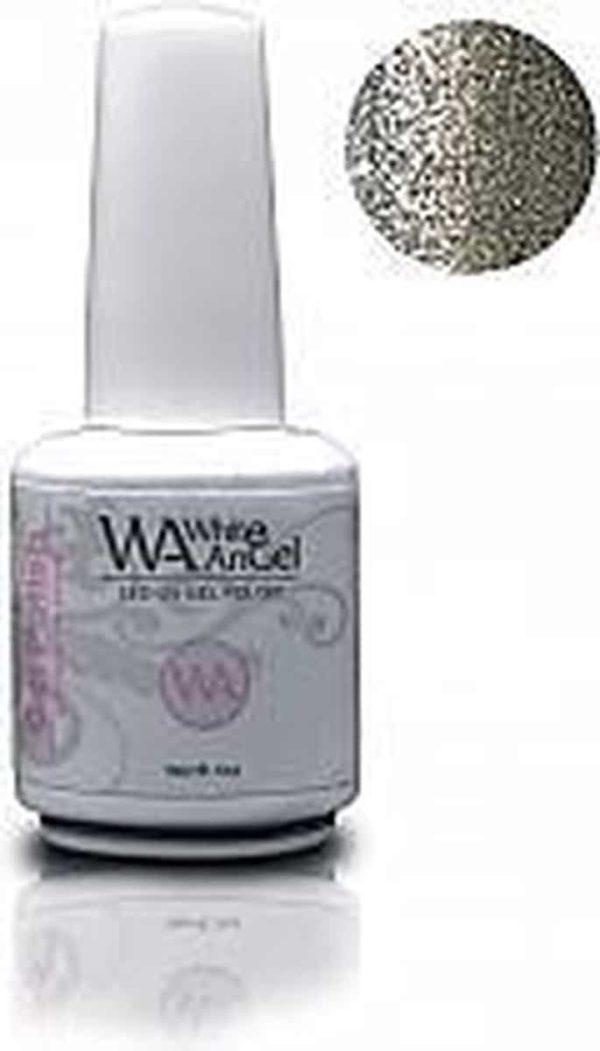 White Angel, Silver Silver, gellak 15ml, gelpolish, gel nagellak, shellac