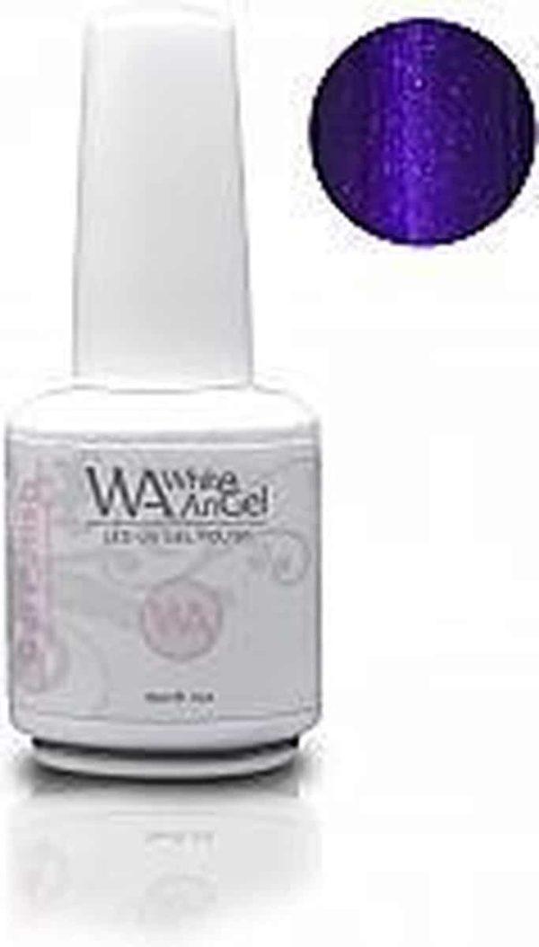 White Angel, Ultra Violet, gellak 15ml, gelpolish, gel nagellak, shellac