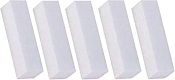 Witte Blok Vijl | Polijst blok Set 5 x