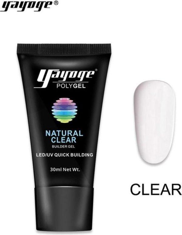 Yayoge polygel clear 30 gram