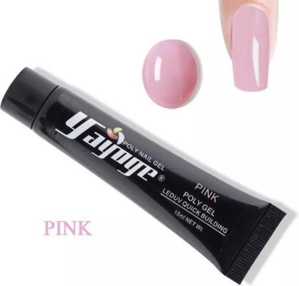 Yayoge polygel pink 30 gram