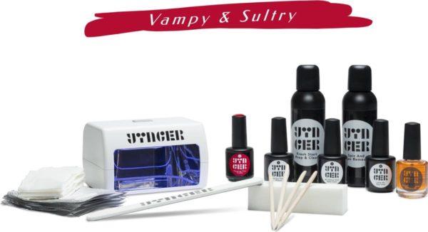 Yinger Vegan Gellak Set incl. 1 Kleur naar keuze, LED-Lamp & 11 Accessoires