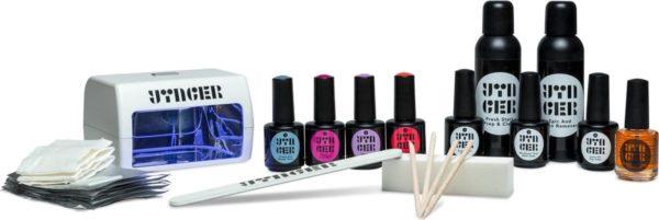 Yinger Vegan Gellak Set incl. 4 Kleuren naar keuze, LED-Lamp & 11 Accessoires