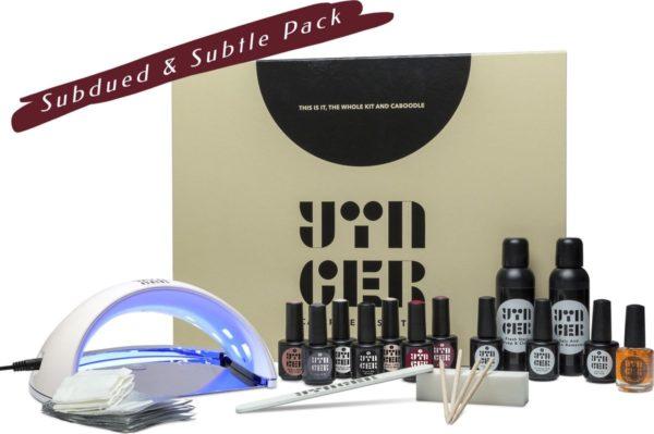 Yinger Vegan Gellak Set incl. 7 kleuren naar keuze, LED-Lamp & 11 Accessoires