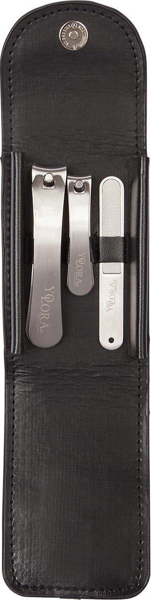 Yolora Nagelknipper - Set - Teennagel Knipper - 3 stuks - RVS