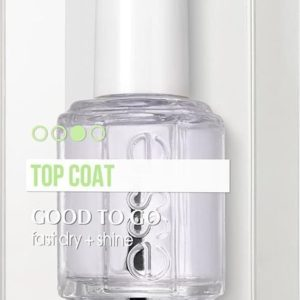 essie good to go - topcoat - nagelverzorging