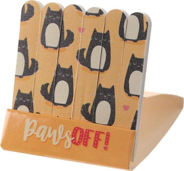 nagelvijl Kat Feline oranje 6 stuks